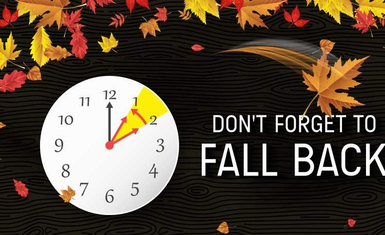 It's Almost Time to Fall Back!
