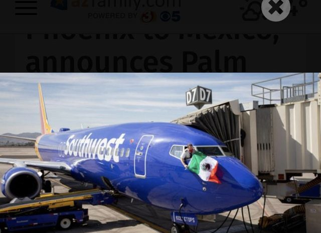 Southwest Begins New Flight to Cabo