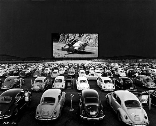 Movie Theater on the Beach!