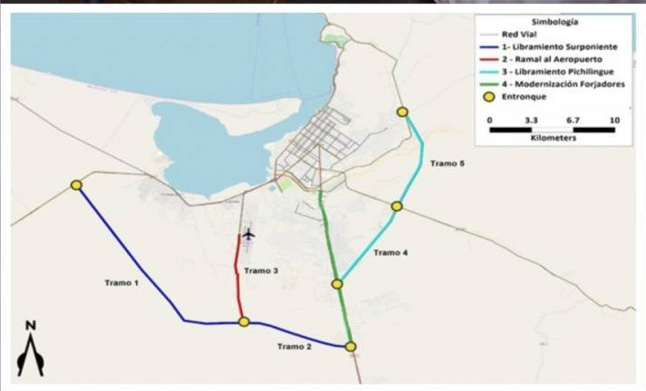 New Detour Road in the Planning