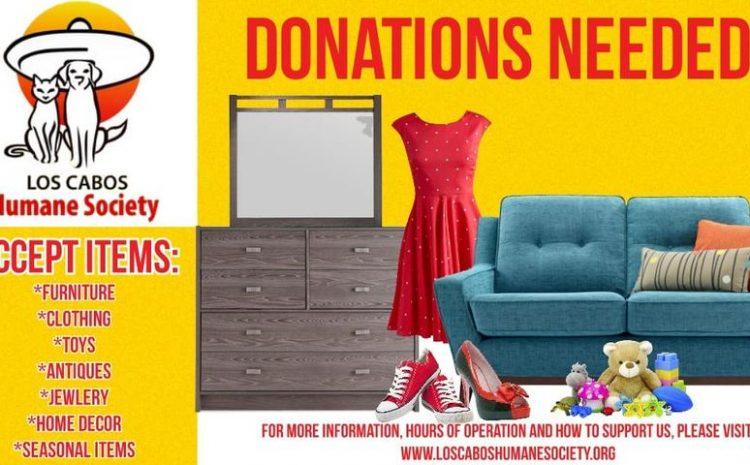 Humane Society Needs Donations