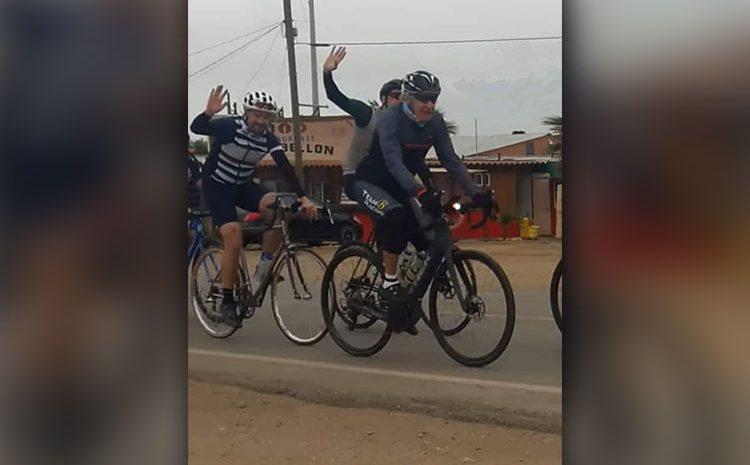 Harrison Ford Bikes Down the Baja