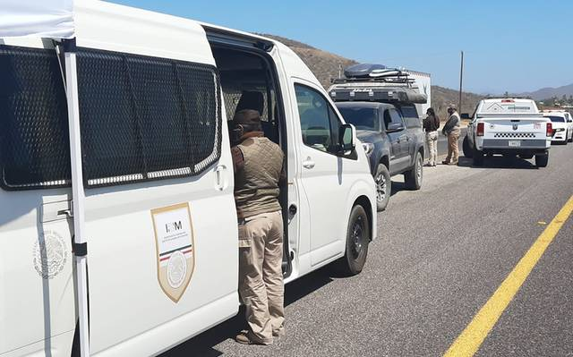 Immigration Sets Up Highway Checkpoint