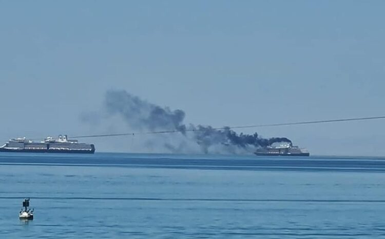 Cruise Ships Leave La Paz