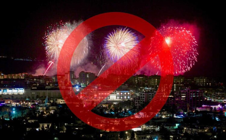 Fireworks Banned for Fourth of July