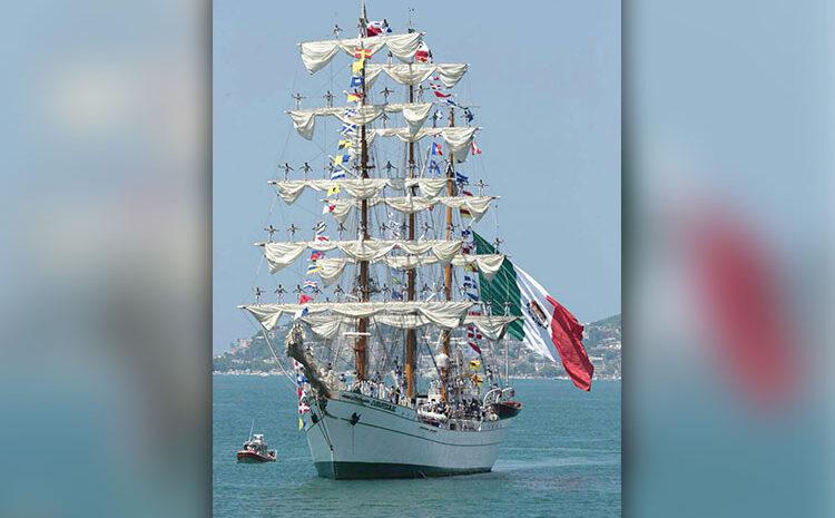 Navy Training Sailboat Visits La Paz