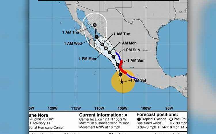 Hurricane Nora Approaches Cabo
