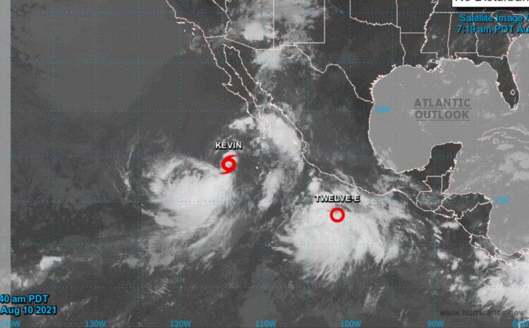 Tropical Storm Kevin Hits Los Cabos