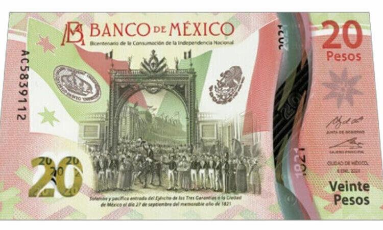 New 20 Peso Bill Arriving Soon!