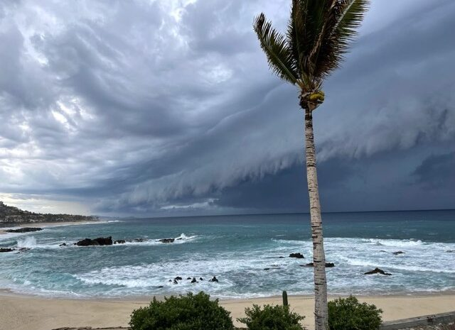 Hurricane Olaf Expected to Hit Cabo Tonight