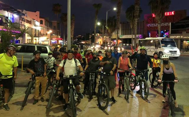 Downtown Cabo Bicycle Tours Return
