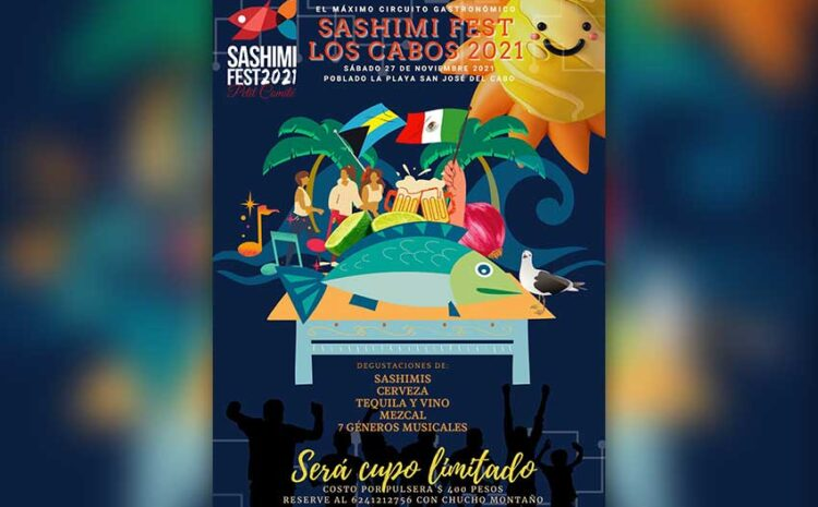 Los Cabos Sashimi Festival Announced
